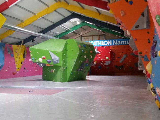 BeBloc climbing gym