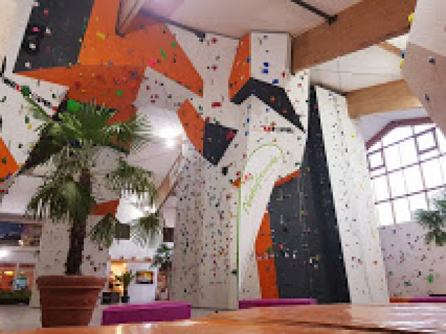 Climbing hall & sports center Bad Ischl K3