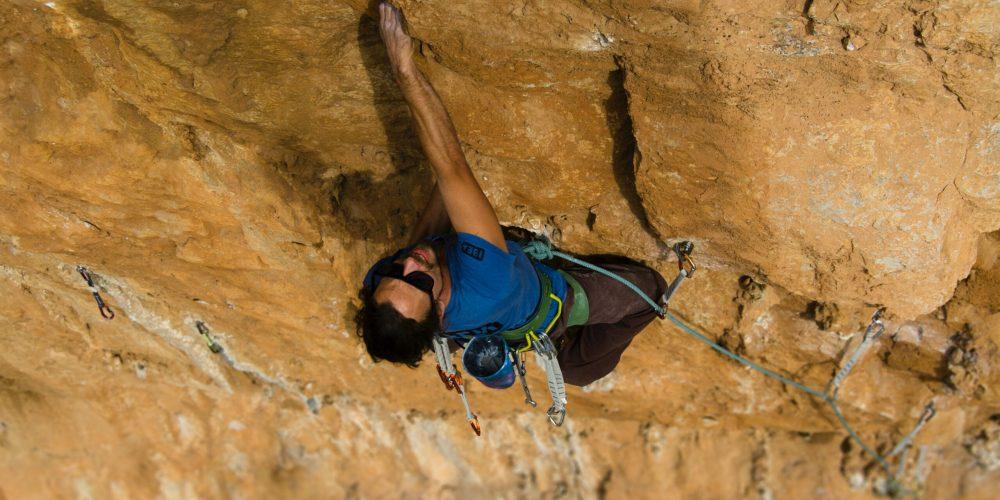 The health benefits of rock climbing