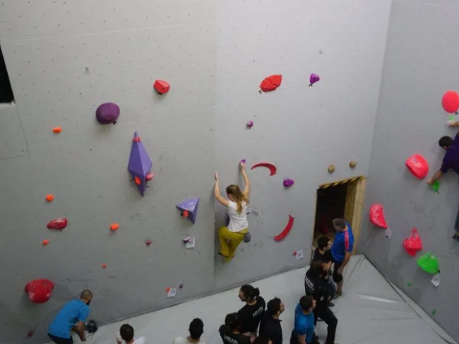 The Hive climbing gym